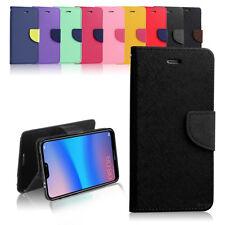 New Diary TPU PU Leather Wallet Flip Case Cover for HUAWEI NOVA 3E / P20 Lite