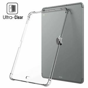 For iPad Pro 12.9 (2015) Air Bounce Shockproof Clear Grip Flexible Soft Back Cov