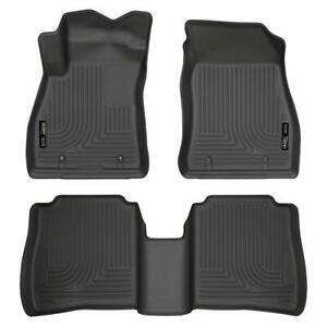 Husky 95631 Weatherbeater Front & 2nd Seat Floor Liners for 14-19 Nissan Sentra