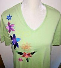 Lane Bryant Women's Dress Size M Floral Embroidery