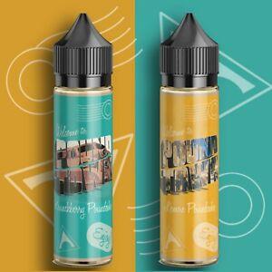 Pound Town E-liquids Short Fill | 70% VG Vape Juice | Premium American Eliquids