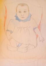 Georges AKOPIAN (1912-1971) Dessin / Années 50 Fifties Fauvisme Ecole de Paris