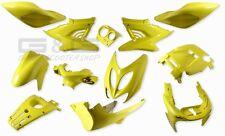 Cubierta Kit de Disfraces 12 piezas de Revestimiento AMARILLO PARA YAMAHA AEROX