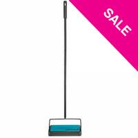 SWEEPERk,Bissell Easy Sweep Compact Carpet & Floor Sweeper, 2484A, Teal