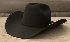 Stetson CORRAL Cowboy Hat - Black - 7 1/4 58cm - 4X Buffalo Fur Felt NEW Skyline