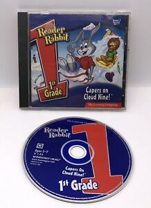 The Learning Company Reader Rabbit 1st Grade for PC, Mac CD Capers On Cloud 9!