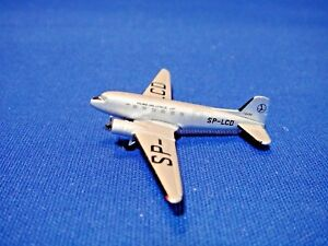 "LOT Polish Airlines Douglas DC-3 Herpa  1:500 ""1950s Colors. 70th Anniversary"""