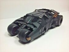 "Batman Dark Knight Batmobile Black Tumbler 9"" Toy Car Vehicle 2008 Mattel"