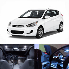 LED White Lights Interior Package Kit For Hyundai Accent 2013-2017 16 pcs