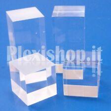 Cubetto 40x40x80 - 6 lati lucidi in plexiglass