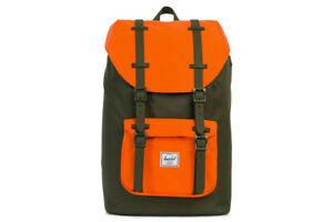 Herschel Supply Co. Little America Backpack Ted Lasso Khaki Green Orange Giants