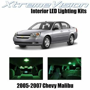 XtremeVision Interior LED for Chevy Malibu 2005-2007 (6 PCS) Green