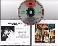 CD 11T JAMES BROWN LIVE AT THE APOLLO 1962 NEW YORK CITY DE 1990