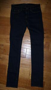 J Brand 912 The Pencil leg stretch indigo denim jeans skinny slim W26 8 VGC L34