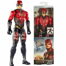 "DC Justice League The Flash Movie Camouflage Titan 30cm 12"" Figure Mattel FPB53"