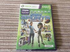 XBOX 360 Kinect Sports Season 2 Juego Nuevo y Sellado