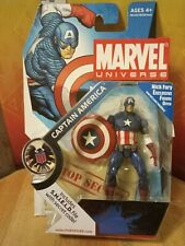 Marvel Universe Series 1 012 Captain America