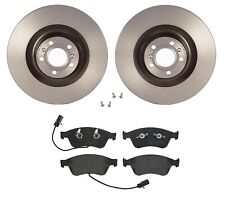 Brembo Front Brake Kit Low Met Pads Disc Rotors For Audi A8 Quattro VW Phaeton