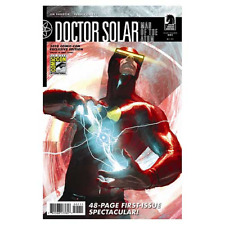 DOCTOR SOLAR MAN OF ATOM #1 SDCC JIM SHOOTER NM 1ST PRINT DARK HORSE 2010