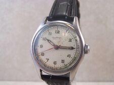 Vintage Universal Geneve Swiss 17 Jewel 267 Military Style Men's Watch...Running