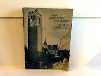 University of Florida 1980 Alumni Directory Address Book Large Paperback Vintage