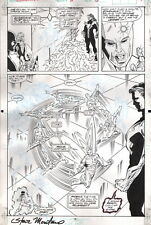 Jim Valentino Guardians of the Galaxy #11 Original Art Splash Page Signed Marvel