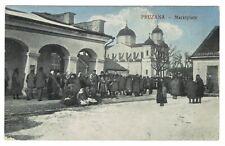 Pruzana, Pruschany 1916, Marktplatz, Weißrussland