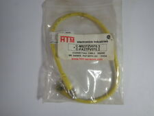 HTM CMS3TZV070.3+C-FA3TPV070.3 Connecting Cable M8 3 Wire  NWB