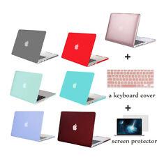 Mosiso Laptop Hard Carry Case for Macbook Pro 13 15 Retina +Keyboard/Screen Skin