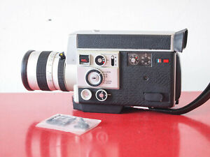 EXC+ Canon Auto Zoom 814 Electronic Super 8 movie camera FREE SHIPPING WORLDWIDE