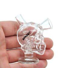Smoking Glass Water Pipe New Shisha Beaker Bong Mini Bubbler Hookah Skull Glass