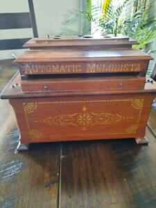 Automatic Melodista Roller Organ - Organette