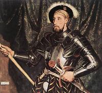 Art Oil painting Holbein Hans - Male Portrait of Sir Nicholas Carew in Armor art