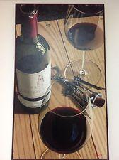 "Thomas Arvid, Wine Artist - ""Tour de Force"" - Original Painting  48"" x 30"""