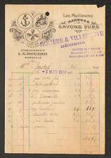 """MARSEILLE / BEZIERS (13 / 34) SAVONNERIE """"Ets. L.X. ROUARD / MOLIERE VILLENEUVE"""""""