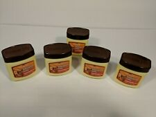 New  5 PK PERSONAL CARE 100% Pure PETROLEUM JELLY Cocoa Butter Scent