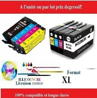 903 953 XL cartouches compatibles HP Officejet Pro 6964 6965 6966 6968 8720 8725