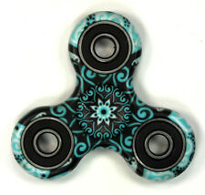 Green Tribal - Tri FIDGET Spinner Smooth Balance Ceramic Hand SPINNER Desk Toy