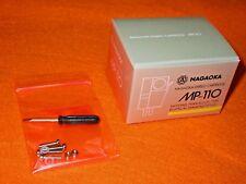 NAGAOKA MP-110 NEW 2 2019 OFFICIAL JAPAN MM Cartridge+Elliptical Stylus MP110