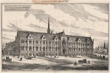 Nottingham Educational Buildings; design submitted by Richard Gane Archt 1876