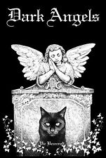 Dark Angels, Gothic Art & Verse, Cats, Vic Bearcroft, Signed Copy, New Release