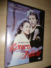 DVD THE ROYAL OPERA ROMEU E JULIETA AUDIO IN FRANCESE SOTTOTITOLI IN PORTOGHESE