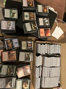 Mtg magic the gathering cards job lot 2500 + cards no lands