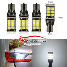 4x4014 LED Backup Reverse Light Bulbs T10 T15 W5W W16W 921 912 194 White Canbus