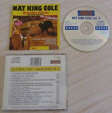 RARE CD ALBUM GRANDES EXITOS VERSION ORIGINAL NAT KING COLE 15 TITRES 1990