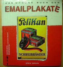 Emailschilder Blechschilder Reklame Preise Emailplakate Buch Bildband Book 1991