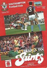 Southampton v Liverpool - Div 1 - 14/5/1985 - Football Programme