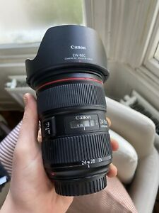 Canon EF 24-70mm F/2.8 L Series Mark II USM Lens Excellent Condition