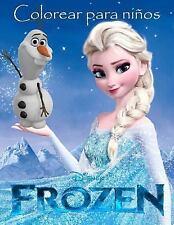 Frozen Colorear para Ninos : Este Hermoso A4 60 Página Colorear Libro para...