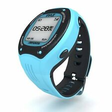 Pyle PSGP310BL GPS Watch Maps Route & Records It - Measures Pace/Speed/Distance
